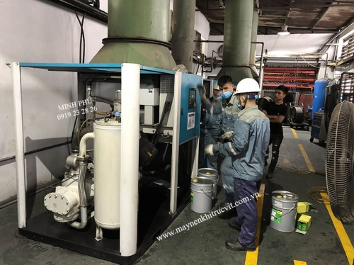 Hanshin air compressor maintenance