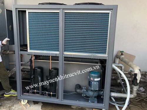 How to find the causes and repair water chiller