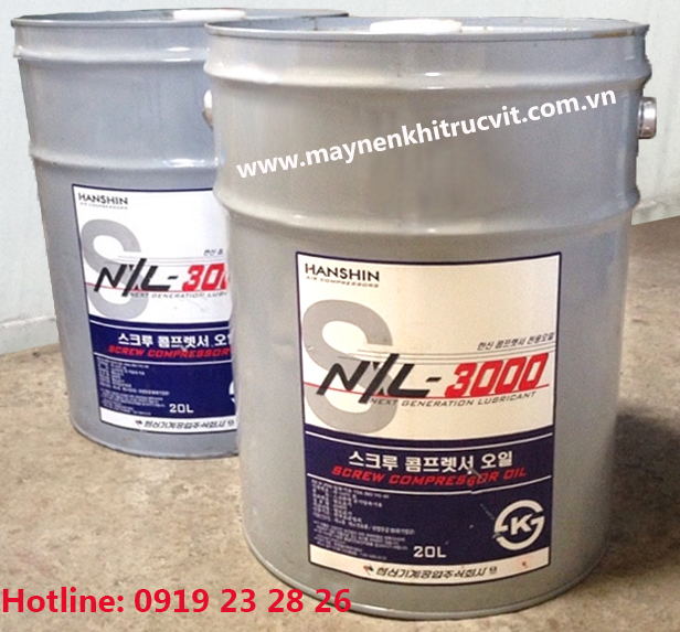 Cung cấp dầu máy nén khí Hanshin NXL-3000