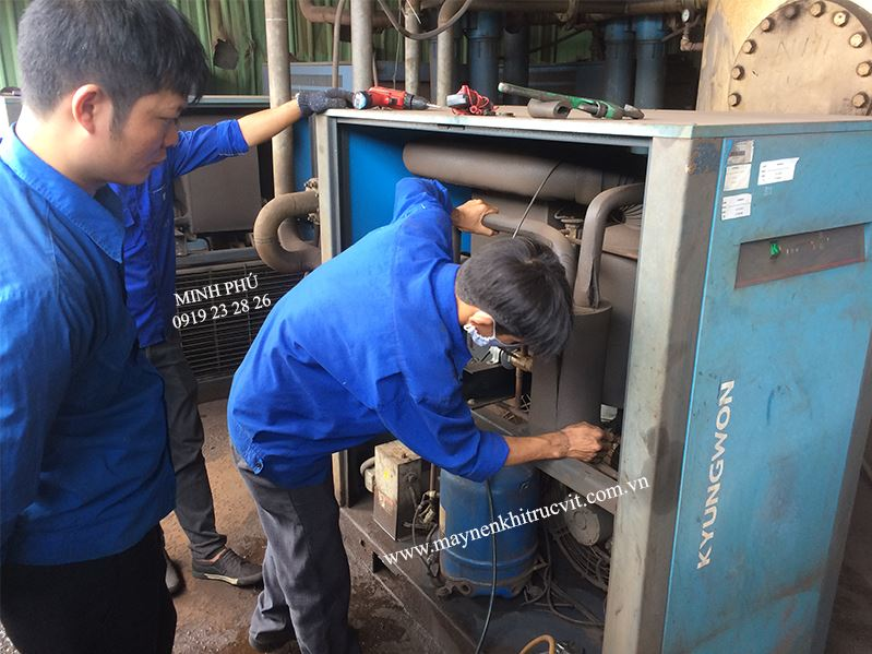 Air dryers repairs