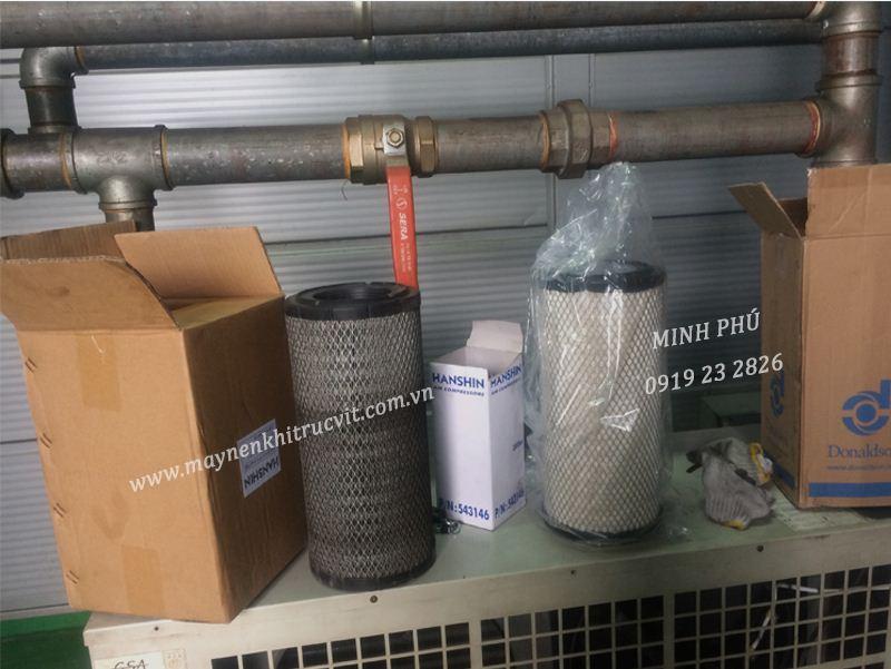 Lọc dầu máy nén khí Hanshin GRH3-50A