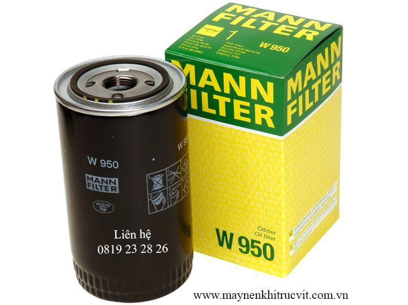 Lọc dầu máy nén khí Mann Filter W 950