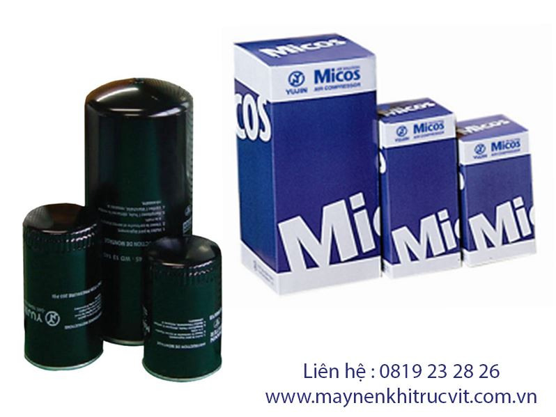Lọc dầu máy nén khí Micos 75kW