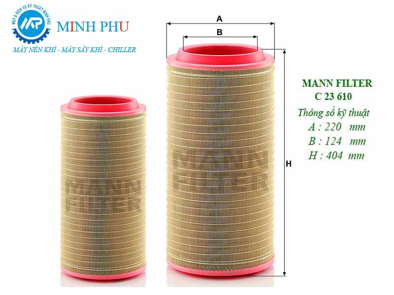 Lọc gió Mann Filter C23610