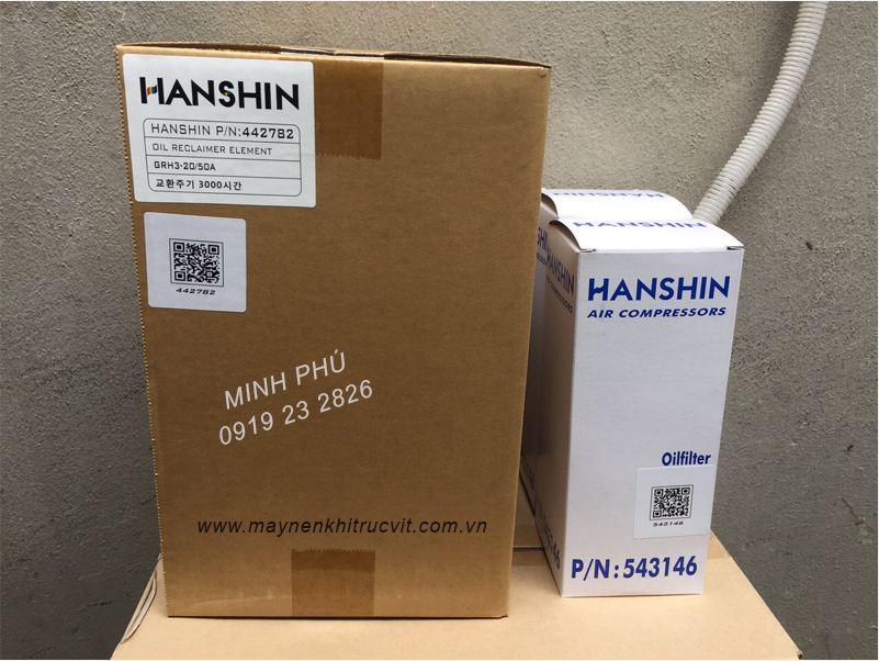 Tách dầu máy nén khí Hanshin GRH3-50